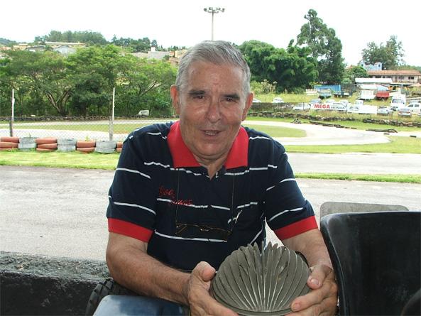 Lucio Pascual, o Tchê. (Foto: Arquivo Allkart.net)