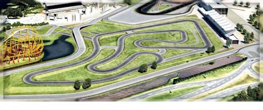 Representação gráfica do Kartódromo Beto Carrero