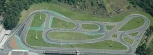 Vista aérea do Kartódromo de Aldeia da Serra (Foto: Divulgação)