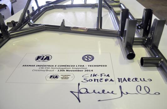 CIK-FIA - Homologação Chassi TECHSPEED - 2