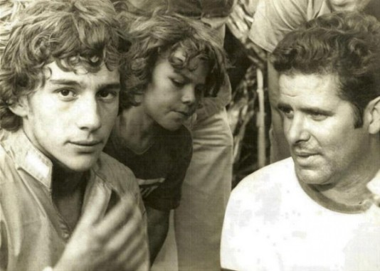 """Lucio Pascual foi, durante anos, o """"alfabetizador"""" de Ayrton Senna no kart. (Foto: Arquivo Allkart.net)"""