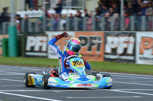 O indonésio Presley Martono venceu a etapa na KFJ. (Foto: CIK/KSP)