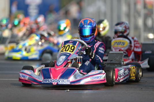 Felipe Drugovich terminou a Final sueca na segunda posição. (Foto: CIK-FIA/KSP)