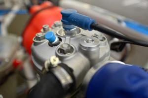 Válvula de descompressão deve facilitar as partidas. (Foto: CIK/KSP)