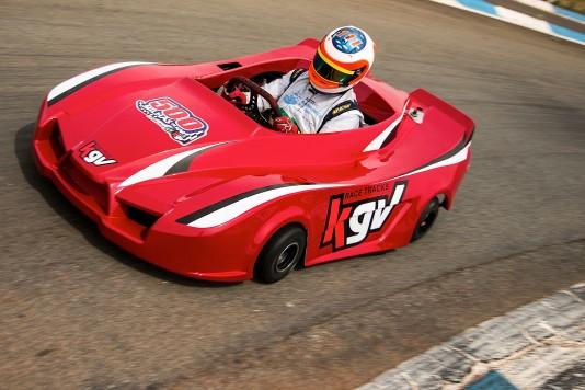 Rubens Barrichello conduziu os testes para escolha dos pneus para a prova. (Foto: Bruno Terena)