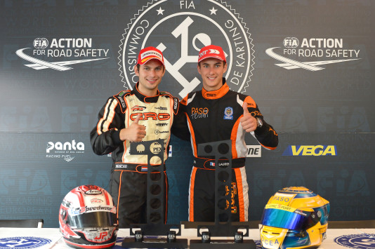 Jorrit Pex (KZ) e Thomas Laurent (KZ2). (Foto: KSP-CIK)