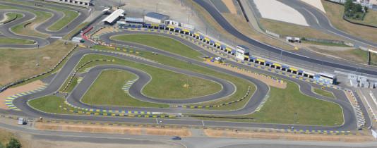 Circuito Alain Prost, em Le Mans, recebe o Mundial de KZ 2015. (Foto: lemans-karting.com)