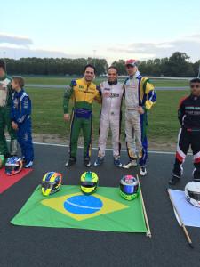 Aboissa, Ventre e Busatto, os brasileiros em Le Mans (Foto: Divulgação/Iame)