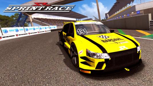 Sprint Race Virtual. (Foto: Divulgação)