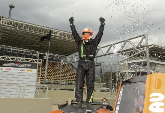 Fábio Brecailo, campeão da classe GP. (Foto: Luciano Santos)