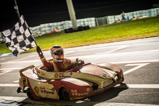 Shell Racing colocou seus karts em primeiro e segundo. (Foto: José Mario Dias)